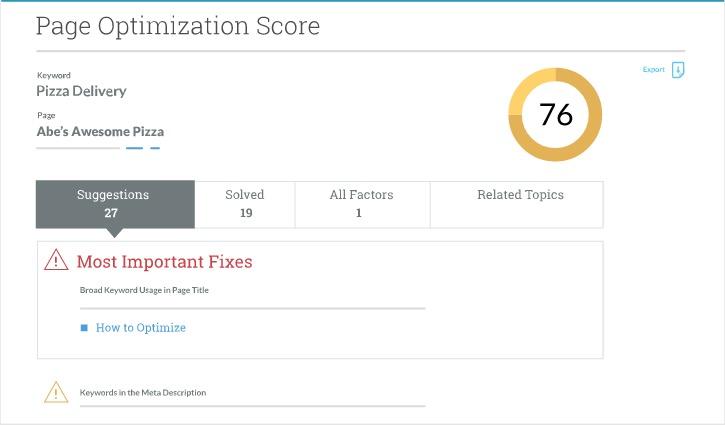 SEO-page-optimization-score